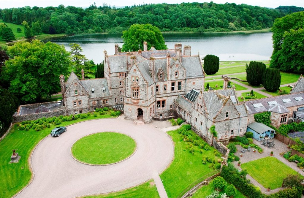 Castle Leslie Aerial View - websize
